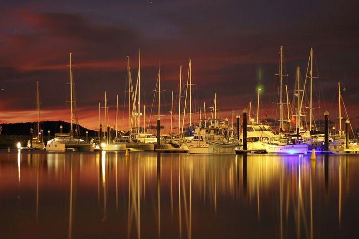 Abel Point Marina. The Whitsundays Queensland.