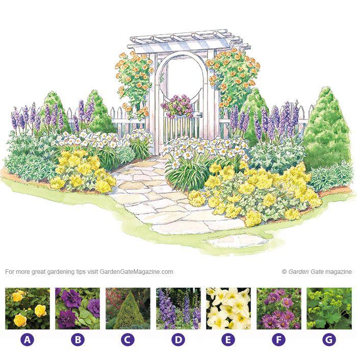Garden Gate Arbors Designs entrance arbors curved top entry arbor gate curved top entry arbor gate Arbor Plan