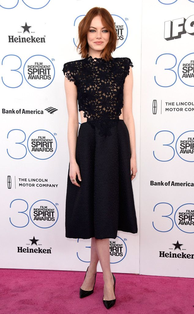 Emma Stone Won't Lose Any Sleep Over the Oscars  Emma Stone, Film Independent Spirit Awards