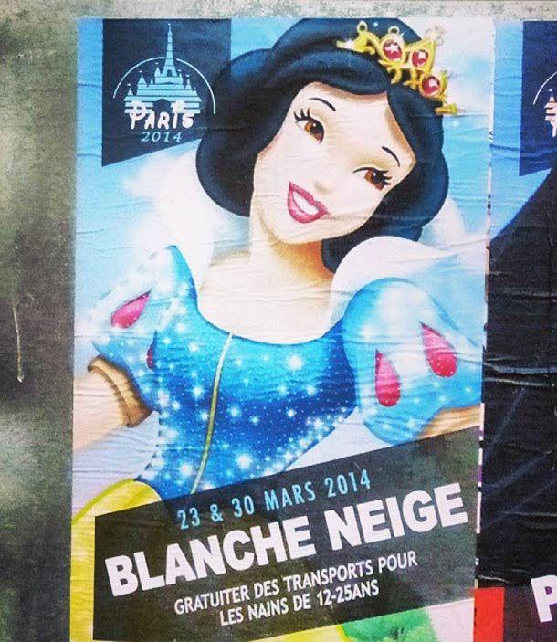 Les princesses Disney se présentent aux élections municipales à Paris ! #Disney #Municipales2014