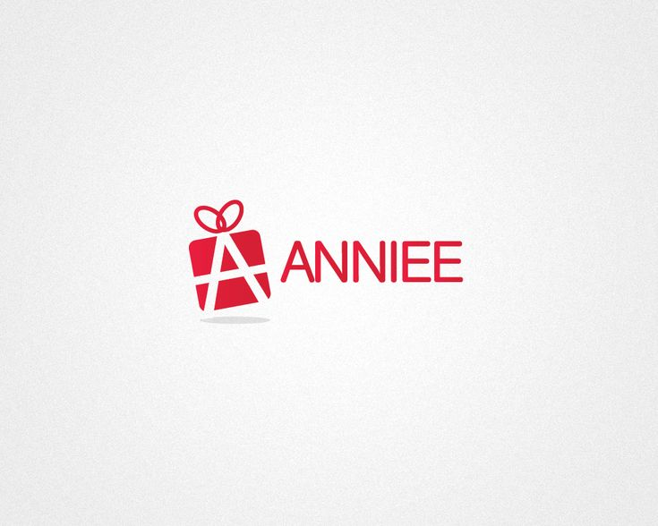 Logo Design by REX for Annee #red #monogram #gift #box #logo #design #DesignCrowd