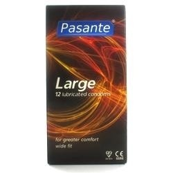 Pasante Large Condoms - Your intimate source of pleasure.