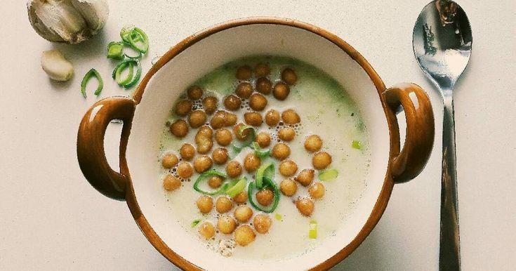 Mennyei Póréhagyma krémleves 🌿 recept! Egy kis könnyű, és gyors leves! :)
