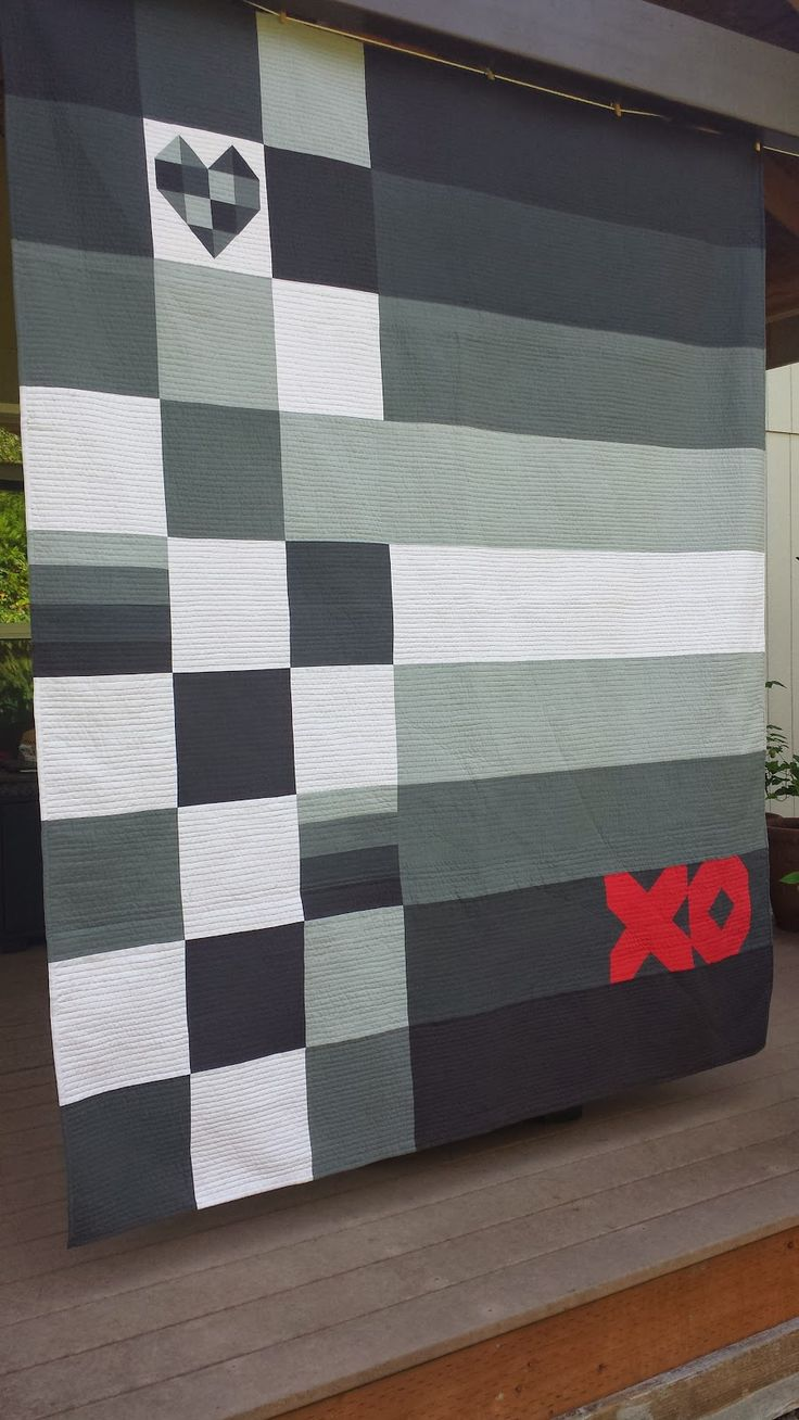 Birthday quilt for my dude