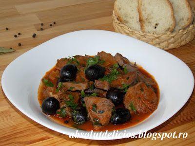 Absolut Delicios - Retete culinare: MANCARE DE LIMBA CU MASLINE