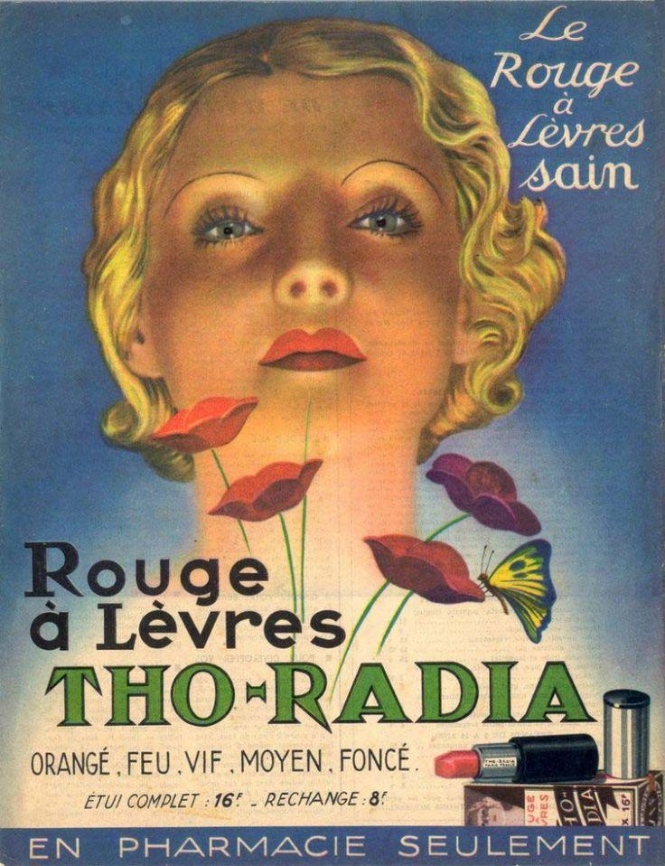 A inizio'900 le 2grandi scoperte della scienza erano l'elettricità e il magnetismo.Fenomeni noti,utili,e che non avevano mai ammazzato nessuno. Perché doveva essere diverso per la radioattività?All'inizio c'è stata solo l'idea delle meraviglie promesse dalla nuova Era Atomica. Tho-Radia,cavalcava l'entusiasmo atomico dell'epoca,il rossetto radioattivo a base di torio e radio donava alle labbra tonalità speciali e una bellezza fuori dal comune, poiché era un prodotto sano...