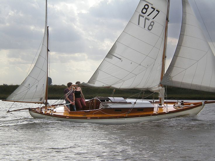 1905 Gaff Yawl Albert Strange Sail New And Used Boats For Sale