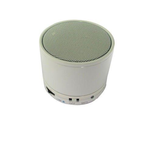 Mini Bluetooth Wireless MP3 Portable Hands-Free Speaker - White