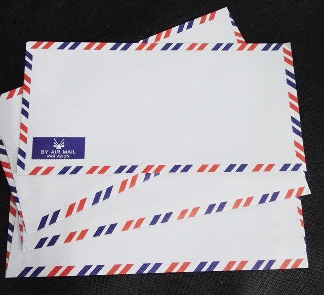 رسائل من الزمن الجميل Country Flags Air Mail Cards