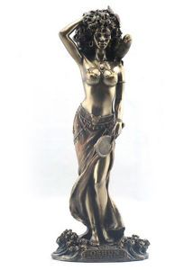Oshun - Goddess Of Love, Beauty And Marriage Statue Sculpture Figure | eBay