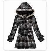 plaid pea coats for women - Bing Images | Fashion | Pinterest