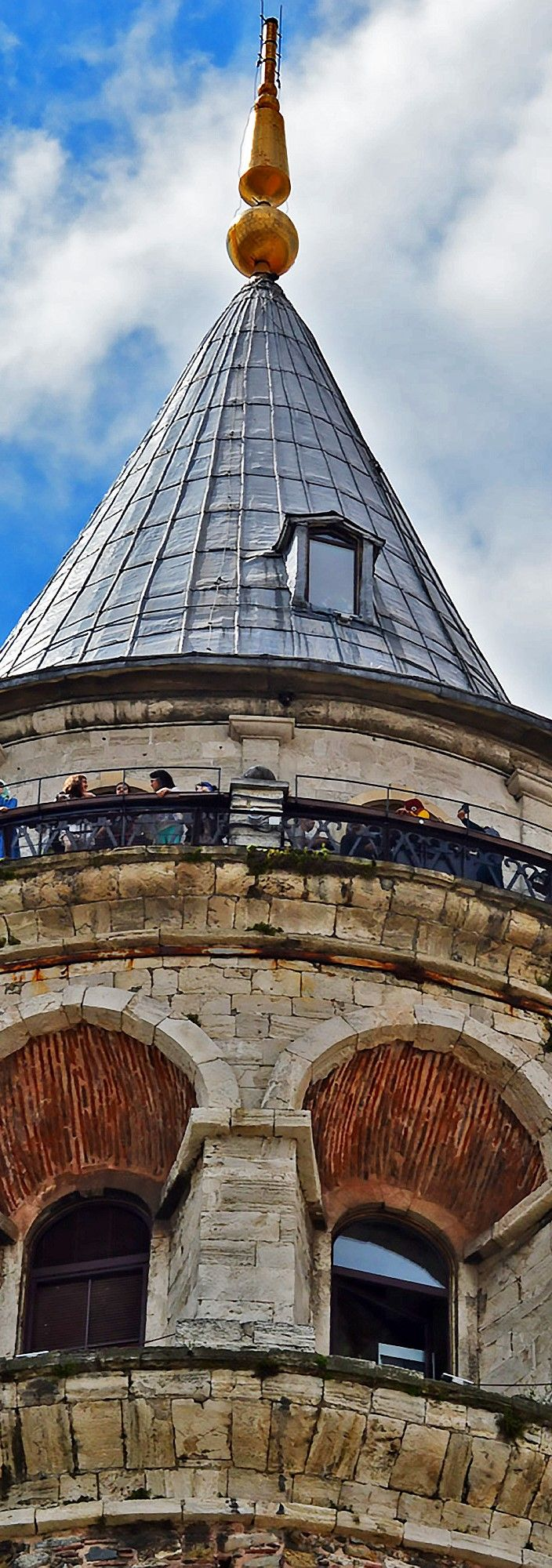 The Galata Tower In Istanbul - #photo #photooftheday #photos #photochallenge #photographer