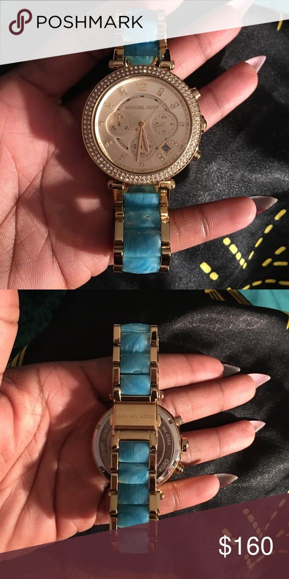 Brand New Michael Kors watch! Brand new Michael Kors watch with box! Never wore this one because I always wear my other! Absolutely authentic and new. Michael Kors Accessories Watches