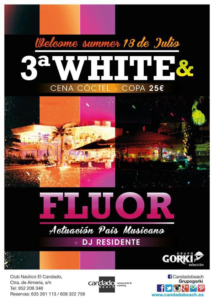 3 White&Fluor, ¡qué bien lo vamos a pasar!