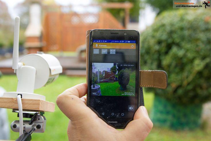 Überwachungskamera LUPUSNET HD LE 201 im Test.rotz kompakter Bauart überzeugte die Wlan-Kamera auch durch durchdachte Funktionen und sehr guter Bildqualität #LUPUSNET #LE201 #Überwachungskamera #Videoüberwachung #Sicherheit