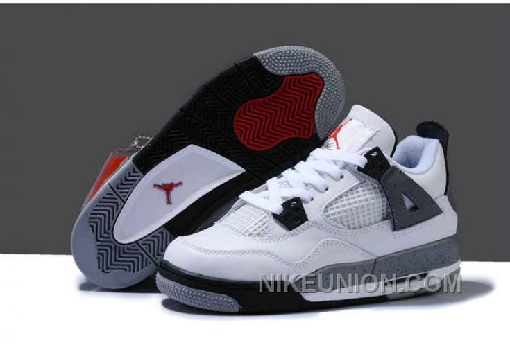http://www.nikeunion.com/cheap-jordan-4-authentic-womens-white-grey-black-red-free-shipping.html CHEAP JORDAN 4 AUTHENTIC WOMENS WHITE GREY BLACK RED FREE SHIPPING : $67.57