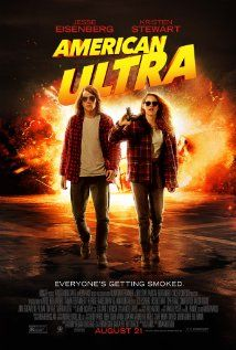 American Ultra (US, 2015) A loser stoner going nowhere surprises himself when he efficiently kills two guys who attack him in the parking lot of the grocery where he works. It turns out he's a deprogrammed, trained and talented CIA agent who's targeted for elimination. So begins a very interesting evening for him, and a fun one for film goers, too. 3.6 stars