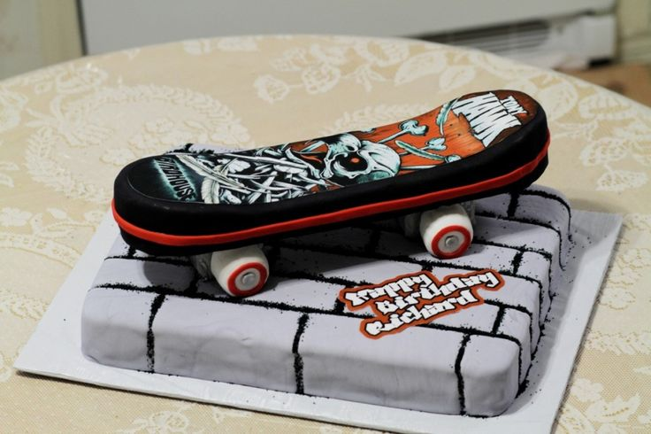 Pictures of Skateboard Cakes