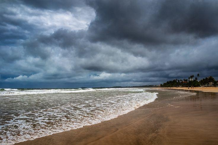 Coast of the Indian Ocean - Bentota, Sri Lanka