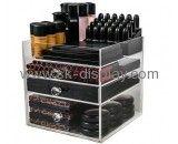 Custom design acrylic makeup organizer drawers clear makeup organizer makeup storage containers CO-191