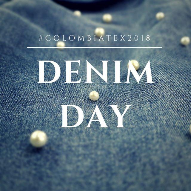 En las últimas décadas el #Denim se ha adaptado a los cambios radicales, tendencias y necesidades de los consumidores modernos. 👖 ¿Cuál es tu Look Denim para hoy en ColombiaTex?👖 #Denimday #Colombiatex2018