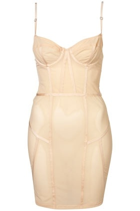 Peach Ladder Seam Slip - StyleSays