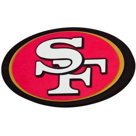 NFL San Francisco 49ers 3D Foam Logo, Multicolor