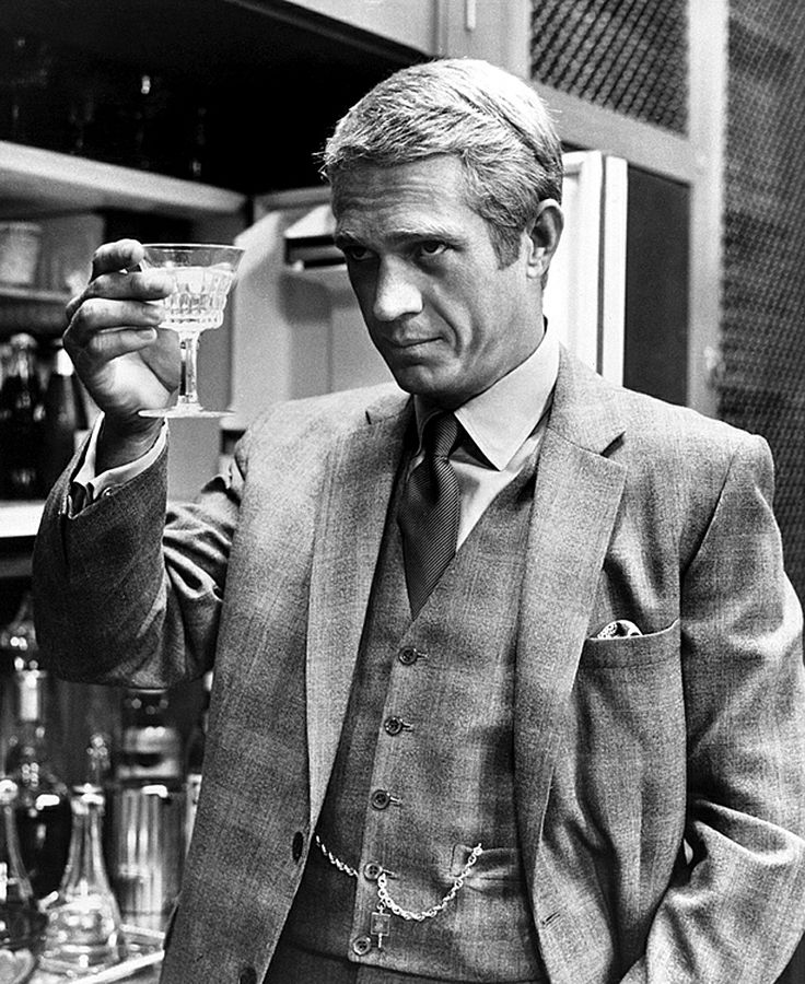 Steve McQueen - Mr. Thomas Crown and The Three-Piece Suit 2. Dressed in Doug Hayward, 1968.