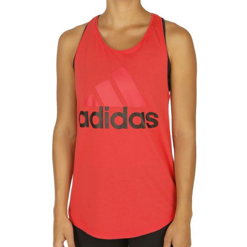 adidas Essentials Linear Loose Tank Top Women - Pink