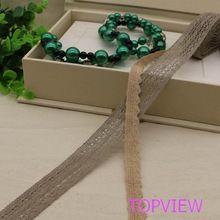 5 yard čipky tkaniny einrichtungs pletenie tkanín alebo vrece Trim šnúrky DIY Scrapbooking (Čína (pevninská časť))