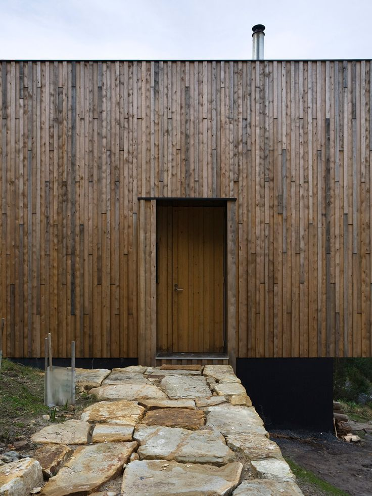 This batten and board in macrocarpa for external cladding