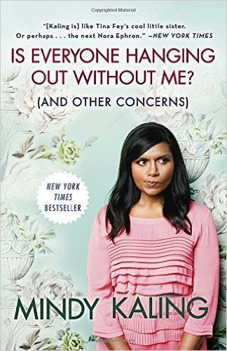 In Is Everyone Hanging Out Without Me?, Mindy invites readers on a tour of her life and her unscientific observations on romance, friendship, and Hollywood, with several conveniently placed stopping points for you to run errands and make phone calls. Mindy Kaling really is just a Girl Next Door—not so much literally anywhere in the continental United States, but definitely if you live in India or Sri Lanka.