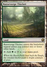 Copperline Gorge Price from Scars of Mirrodin - Magic the Gathering Deck Card (MTG)