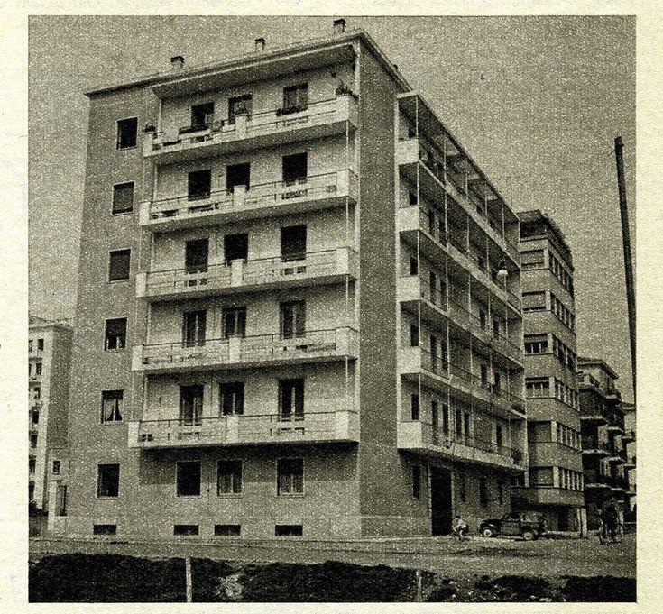 Nuovi edifici di Borgo Trento - 1956 http://www.veronavintage.it/verona-antica/immagini-storiche-verona/nuovi-edifici-di-borgo-trento-1956