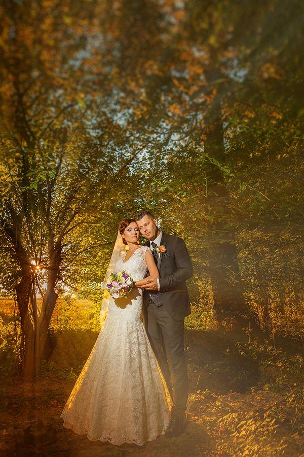 La nunta celor doi am avut parte de un partener fantastic. Soarele, căci despre el e vorba a făcut mai mult de jumătate din treabă.
