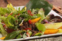 Salada thai de músculo bovino por Academia da carne Friboi