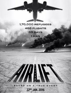 Airlift Movie Poster  #Airlift