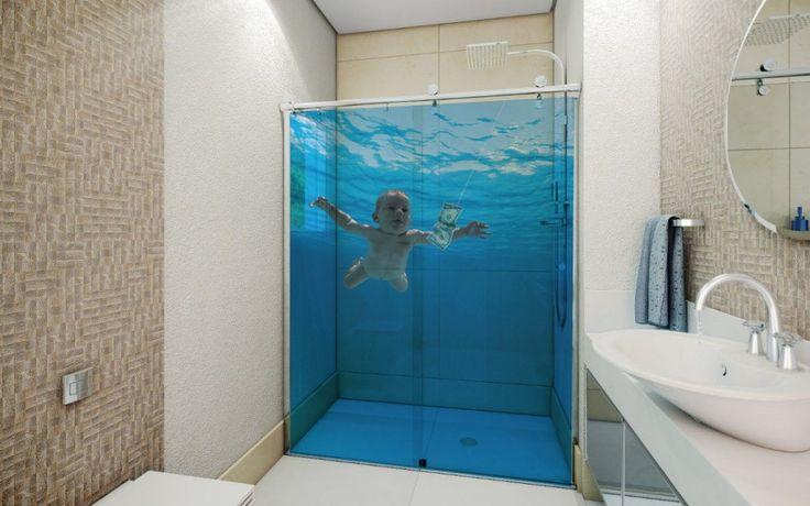 30 Adesivos para Box que vão transformar o seu banheiro