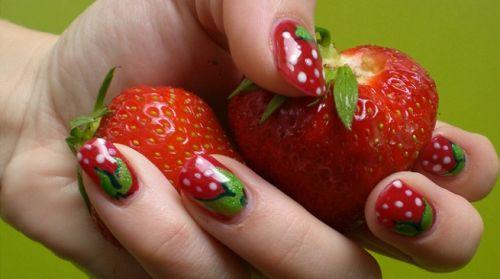 Decorar Las Uñas Con Dibujos De Frutas