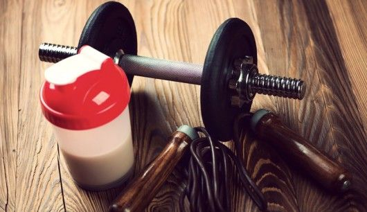 Selbstgemachter Eiweiß-After-Workout-Shake