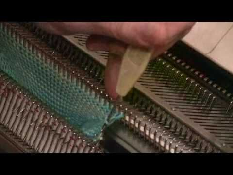 Knitting a Sock on the Standard Machine 2 of 3 by Diana Sullivan
