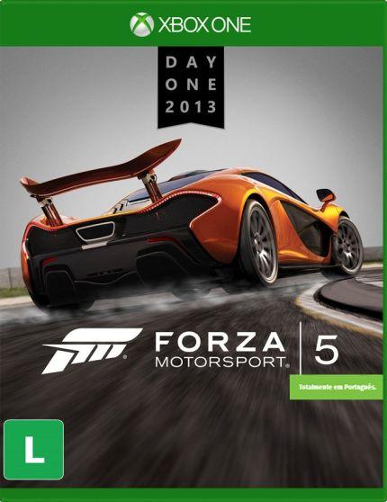 Forza Motorsport 5 é um jogo de corrida cinematográfico estrelado por grandes carros e pistas do mundo inteiro. Construído do zero para tirar proveito de todo o potencial do Xbox One e o poder da nuvem, nenhum jogo de corrida proporciona a emoção existente em Forza Motorsport 5...