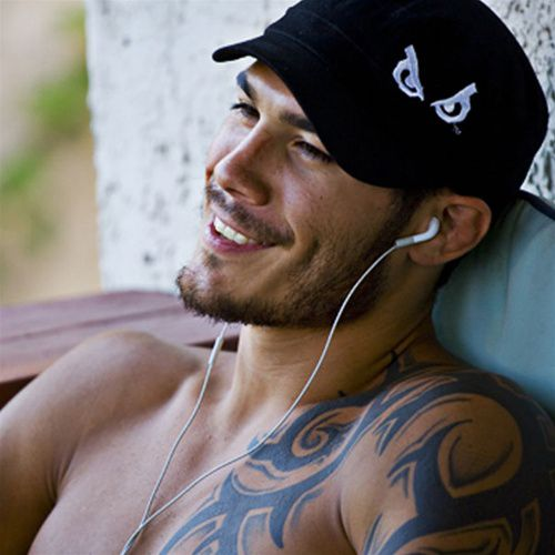 Roger Huerta.. No clue as to who you are but I love your dimples!