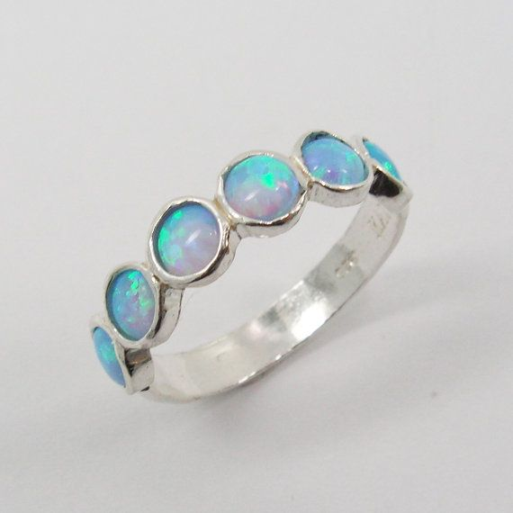 Christmas Sale - Opal ring. Chic sterling silver ring design (sr-9531). birthday gift for her, opal jewelry, silver opal ring