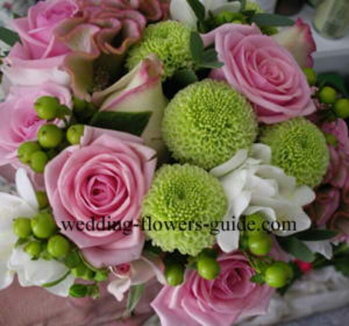 green and pink wedding flowers images galleries with a bite. Black Bedroom Furniture Sets. Home Design Ideas