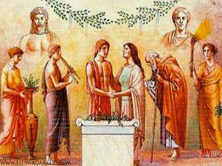 Η ΛΙΣΤΑ ΜΟΥ: Οι γαμήλιες τελετές των Αρχαίων Ελλήνων