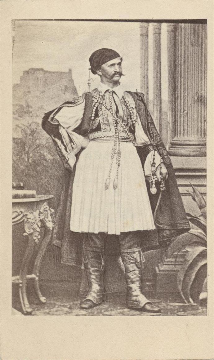 Όθων της Ελλάδος Rodolphe Maifarth Αθήνα, π. 1860 Κληροδότημα Οδυσσέα Φωκά.