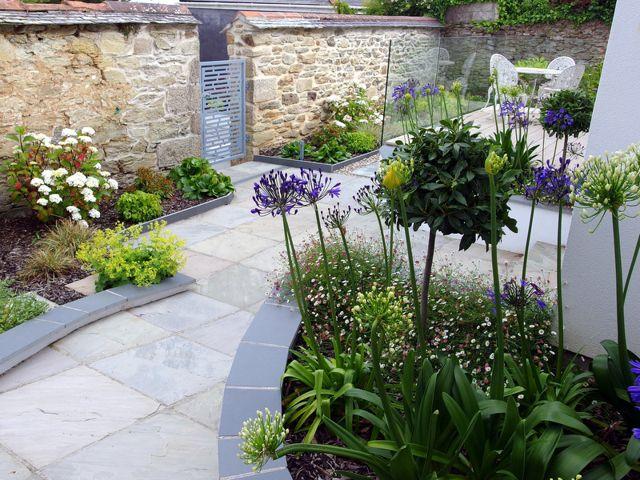 Garden design by Cornwall designer based in Falmouth | Falmouth Town Garden