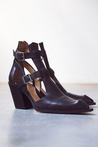 John Fluevog Womens Postmodern Ankle Boot