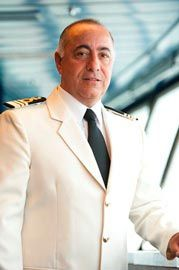 Captain Raffaele Pontecorvo: Started his MSC career Cargo in 1982 when he embarked on board MSC Corinna as deck cadet. In 1990 he embarked for the first time on a passenger ship as 2nd Officer and from 1995-2000 he held the rank of Staff Captain.  In 2004 he started to command passenger ships and in 2010 he was given the command of MSC Splendida. Captain Pontecorvo is in his 12th season of commands on MSC passengers vessels and has commanded all classes of the MSC Cruises' fleet.